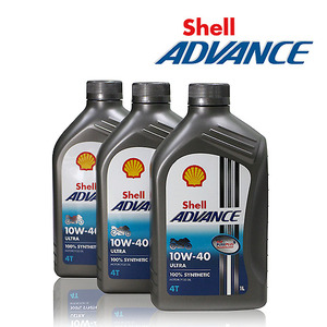 [Shell] Advance 4T ULTRA 10W-40